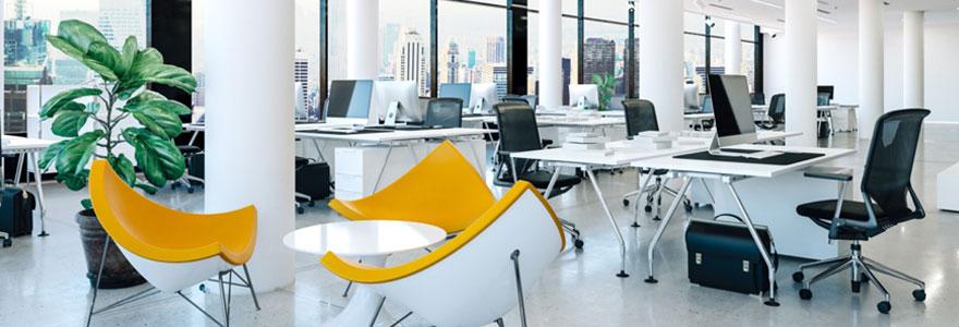 types d'aménagement de bureaux